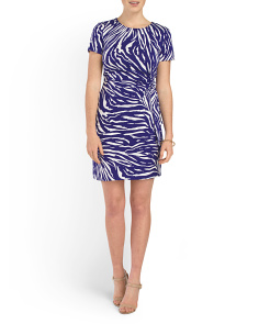 image of Zoe Printed Dress