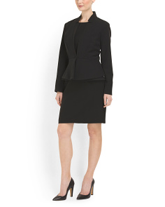 image of Suit Dress With Jacket