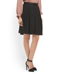 image of Quilted Jacquard Skirt