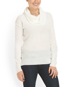 image of Chevron Cowl Neck Tunic
