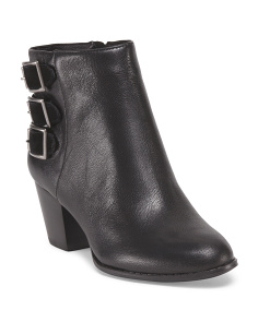 image of Leather Teril Bootie
