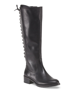 image of Leather Baude Lace Up Boot