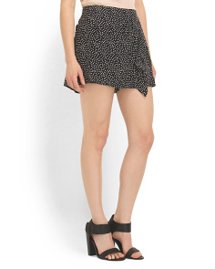 image of Silk Swanky Printed Skort