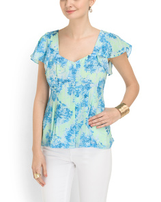 image of Silk Cove Sultry Top