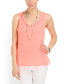 image of Tiki Sleeveless Top