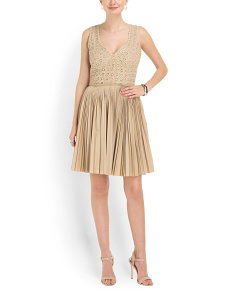 image of Elli Pleated Dress