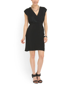 image of Gina V Neck Dress