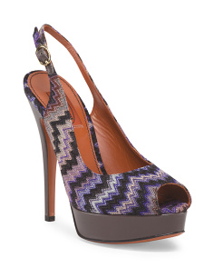 image of Made In Italy Patterned Pump