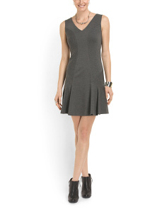 image of Carla Ruffle Bottom Tank Dress