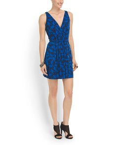image of Oblixe V Neck Dress