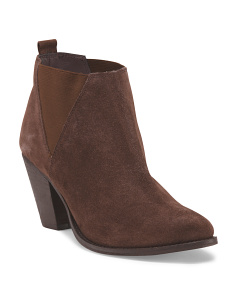 Suede Vaxio Pull On Bootie