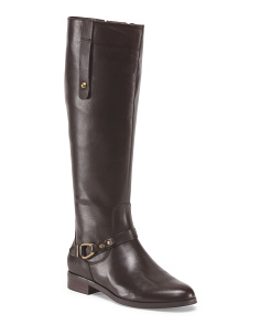 Leather Rene High Shaft Boot