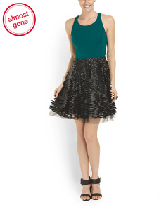 image of Miranda Tulle Skirt Dress