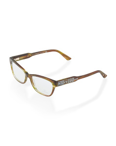 image of Made In Italy Oval Optical Glasses