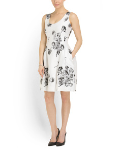 image of Rose Jacquard Dress