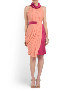 image of Made In Italy Silk Dress