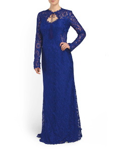 image of Made In Italy Lace Gown