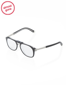 image of Made In Italy Men's Oval Eyeglasses