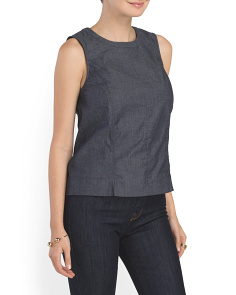 image of Taree Z Stratum Sleeveless Top