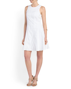 image of Linen Blend Maydra Dress