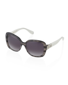 image of Made In France Oversized Sunglasses