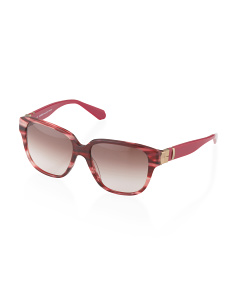 image of Made In France Oversized Square Sunglasses
