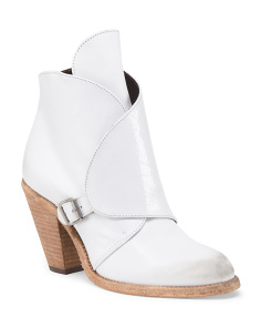 Made In Portugal Leather Wei Bootie