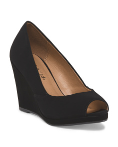 image of Zolio Peep Toe Wedge