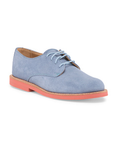 Suede Clare Lace Up Oxford