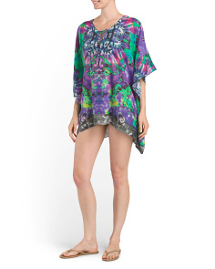 Kaftan Lace Up Cover-Up
