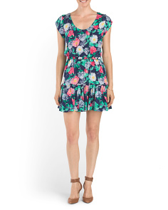 Silk Belinda Floral Dress