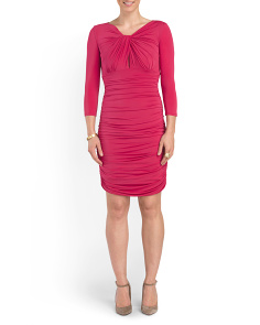 Ruched Cocktail Dresses