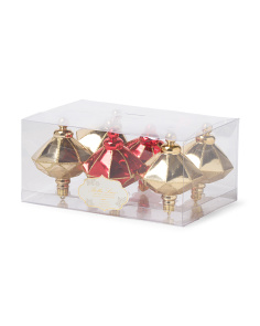 Set Of 6 Holiday Ornaments