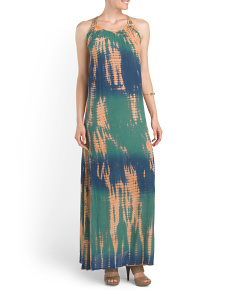 Golden Light Maxi Dress
