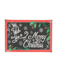 4pk Chalkboard Wishes Cork Placemats
