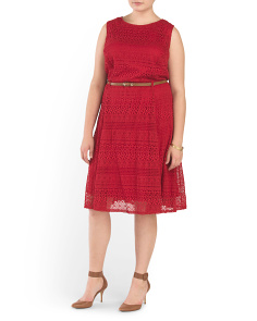 Plus Angelika Knit Dress