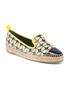 Made In Spain Junia Monster Eye Espadrille
