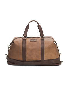 Canvas Leather Duffle