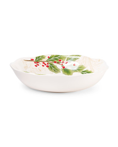 Holly Toile Bowl