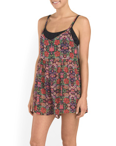 Folkloric Cover-Up Romper