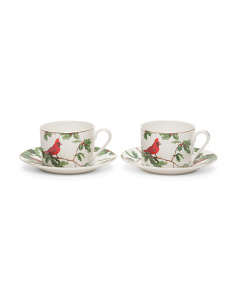 Set Of 2 Cardinal Tea Cups