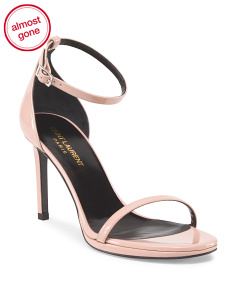 Made In Italy Patent Leather Jane Vernice Sandal