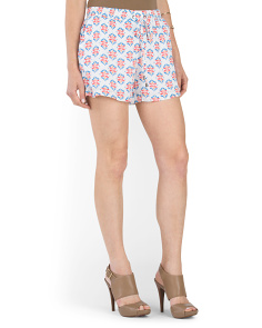 Pull On Printed Short