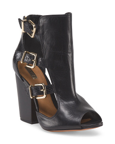 Made In Brazil Leather Celena Bootie