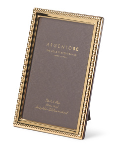 Made In Italy 24k Gold Plated Lucca Frame