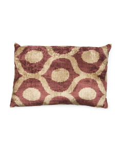 23x15 Silk Velvet Gloria Pillow