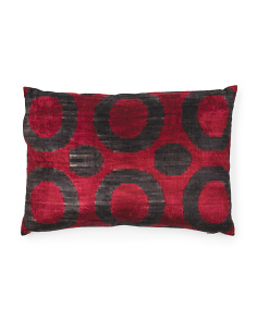 23x15 Silk Velvet Stampa Pillow