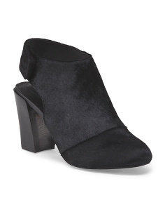 Leather Haircalf Jenna Bootie