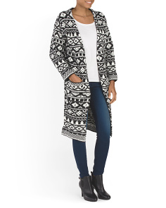 Aztec Printed Duster
