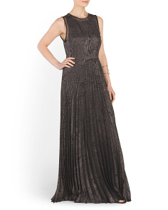 Angelo Pleated Maxi Dress